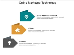 Online Marketing Technology Ppt PowerPoint Presentation Pictures Microsoft Cpb