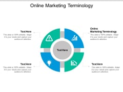 Online Marketing Terminology Ppt PowerPoint Presentation Gallery Vector Cpb