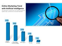 Online Marketing Trend With Artificial Intelligence Ppt PowerPoint Presentation Portfolio Graphics Design PDF