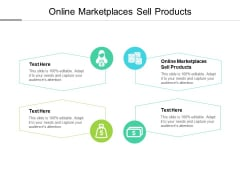 Online Marketplaces Sell Products Ppt PowerPoint Presentation Professional Portfolio Cpb
