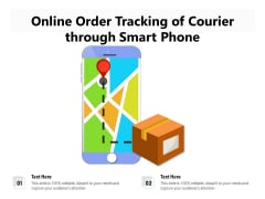 Online Order Delivery Tracking Vector Icon Ppt PowerPoint Presentation Gallery Design Ideas PDF