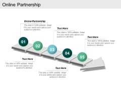 Online Partnership Ppt Powerpoint Presentation Outline Graphics Cpb