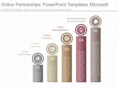 Online Partnerships Powerpoint Templates Microsoft