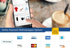Online Payment Methodologies Options Ppt PowerPoint Presentation Summary Graphic Tips