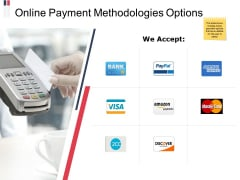 Online Payment Methodologies Options Ppt PowerPoint Presentation Summary Structure