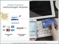 Online Payment Methodologies Template Ppt PowerPoint Presentation Professional Influencers