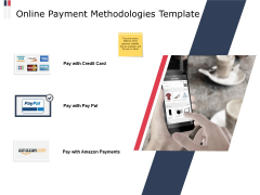 Online Payment Methodologies Template Ppt PowerPoint Presentation Slides Background Images