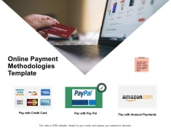 Online Payment Methodologies Template Ppt PowerPoint Presentation Slides Ideas