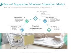 Online Payment Platform Basis Of Segmenting Merchant Acquisition Market Brochure PDF