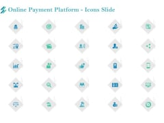 Online Payment Platform Icons Slide Clipart PDF
