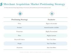Online Payment Platform Merchant Acquisition Market Positioning Strategy Microsoft PDF