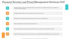 Online Payment Service Payment Security And Fraud Management Solutions Portrait PDF