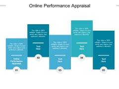 Online Performance Appraisal Ppt PowerPoint Presentation Infographic Template Outline Cpb Pdf