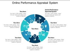 Online Performance Appraisal System Ppt Powerpoint Presentation Gallery Mockup Cpb