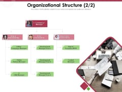 Online Product Planning Organizational Structure Manager Ppt Styles Example PDF