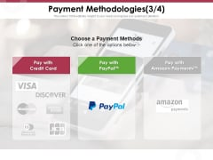 Online Product Planning Payment Methodologies Credit Ppt Model Rules PDF