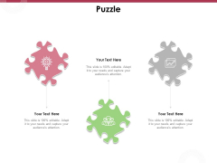 Online Product Planning Puzzle Ppt Infographic Template Inspiration PDF