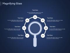 Online Promotional Marketing Frameworks Magnifying Glass Ppt Infographic Template Demonstration PDF