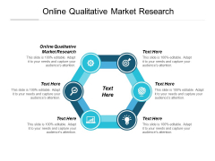 Online Qualitative Market Research Ppt PowerPoint Presentation Show Samples Cpb