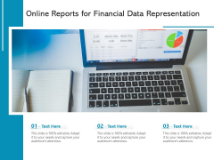 Online Reports For Financial Data Representation Ppt PowerPoint Presentation Professional Picture PDF