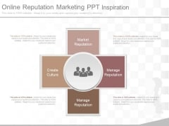 Online Reputation Marketing Ppt Inspiration