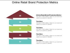 Online Retail Brand Protection Metrics Ppt PowerPoint Presentation Model Information Cpb