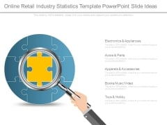 Online Retail Industry Statistics Template Powerpoint Slide Ideas