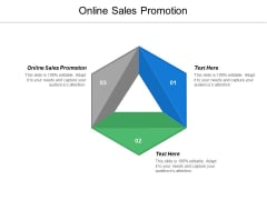 Online Sales Promotion Ppt PowerPoint Presentation Inspiration Tips Cpb