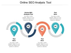 Online Seo Analysis Tool Ppt PowerPoint Presentation Infographic Template Slides Cpb