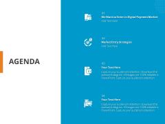 Online Settlement Revolution Agenda Ppt Icon Example PDF