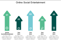 Online Social Entertainment Ppt PowerPoint Presentation Model Gallery Cpb