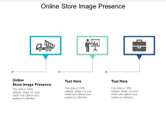 Online Store Image Presence Ppt PowerPoint Presentation Professional Vector Cpb
