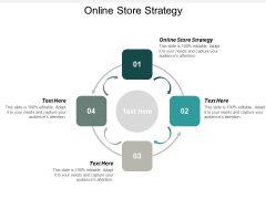 Online Store Strategy Ppt PowerPoint Presentation File Display Cpb