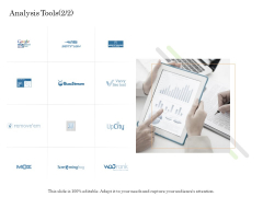 Online Trade Management System Analysis Tools Tool Ppt Infographic Template Slide PDF