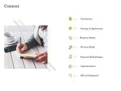 Online Trade Management System Content Ppt Examples PDF