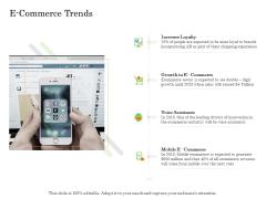 Online Trade Management System E Commerce Trends Ppt Outline Display PDF