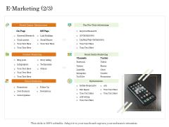 Online Trade Management System E Marketing Posts Ppt Summary Master Slide PDF