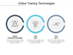 Online Training Technologies Ppt PowerPoint Presentation Portfolio Clipart Images Cpb