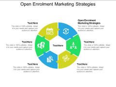 Open Enrolment Marketing Strategies Ppt PowerPoint Presentation Portfolio Slide Download Cpb