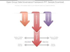 Open Group Data Governance Framework Ppt Sample Download