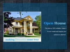 Open House Ppt PowerPoint Presentation Example File