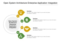 Open System Architecture Enterprise Application Integration Ppt PowerPoint Presentation Professional Good Cpb