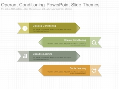 Operant Conditioning Powerpoint Slide Themes