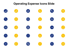 Operating Expense Icons Slide Ppt PowerPoint Presentation File Themes