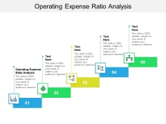 Operating Expense Ratio Analysis Ppt PowerPoint Presentation Inspiration Deck Cpb