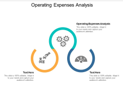 Operating Expenses Analysis Ppt PowerPoint Presentation Portfolio Designs Download Cpb
