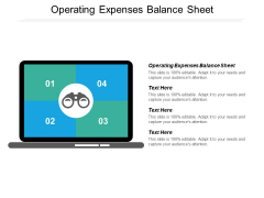 Operating Expenses Balance Sheet Ppt PowerPoint Presentation Inspiration Graphics Pictures Cpb
