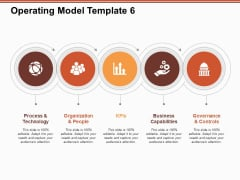 Operating Model Process And Technology Ppt PowerPoint Presentation Professional Slides