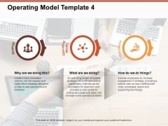 Operating Model Strategy Operations Ppt PowerPoint Presentation Inspiration Template