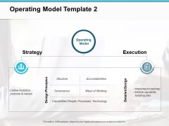 Operating Model Strategy Ppt PowerPoint Presentation Inspiration Guidelines